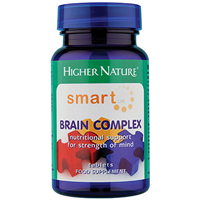 Higher Nature Smart UK Brain Complex - 90 Tablets - Best before date is 30th April 2017