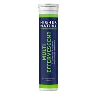 Higher Nature Multi Effervescent - 20 Effervescent Tablets