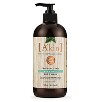 A kin Fragrance Free Mild & Gentle Body Wash - 500ml
