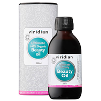 Viridian 100% Organic Ultimate Beauty Oil - 200ml
