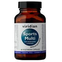 Viridian Sports Multivitamin & Mineral - 60 Vegicaps
