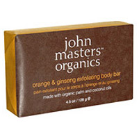 Orange & Ginseng Exfoliating Body Bar - 128g