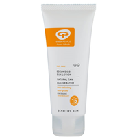 Green People Sun Lotion SPF 15 Tan Accelerator- 200ml