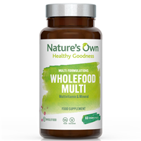 Natures Own Wholefood Multi - Multivitamin & Mineral - 60 Vegan Capsules