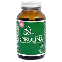 Health Elements Spirulina - 100 x 500mg Vegicaps
