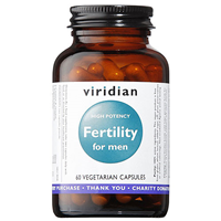 Viridian High Potency Fertility for Men - 60 Vegicaps