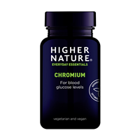 Higher Nature Chromium - 90 x 200mcg Tablets
