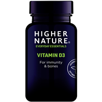 Higher Nature Vitamin D3 - 120 Capsules