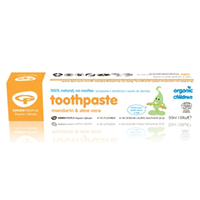 Green People Organic Children Mandarin Toothpaste- 50ml