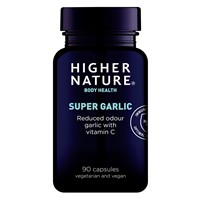Supergar 8000 - Super Strength Garlic - 90 Tablets