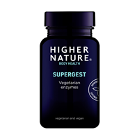 Supergest - Vegetarian Enzymes - 30 Vegicaps