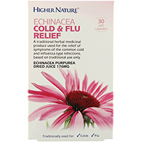 Echinacea Cold and Flu Relief -30 x 176mg Soft Capsules