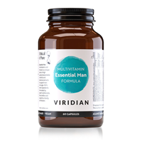 Viridian Essential Male Multi Vitamin and Mineral - 90 Vegicaps