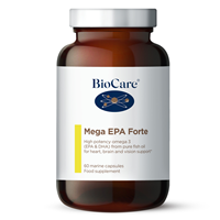 Mega EPA Forte - High Potency Fish Oil - 60 Capsules