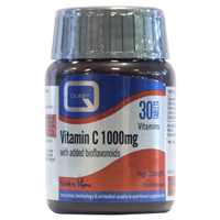Vitamin C 1000mg - Timed Release Formula - 30 Tablets