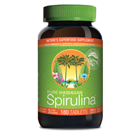 Nutrex Pure Hawaiian Spirulina - 180 x 1000mg Tablets