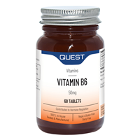 Quest Vitamin B6 - 50mg - 60 Tablets