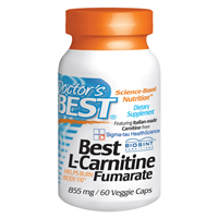 Best L-Carnitine Fumarate - 60 x 855mg Capsules
