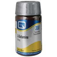 L-Glutamine 500mg - Fuel for Cells - 30 Capsules