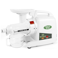Tribest Green Star Gold Juicer - For Hard Root Foods