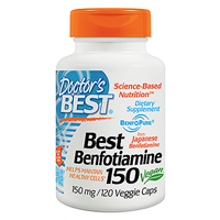 Best Benfotiamine - Vitamin B1 - 120 x 150mg Vegicaps