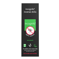 incognito Citronella Incense Repellent Sticks - 10 Sticks