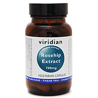 Viridian Rosehip Extract - 30 x 700mg Vegicaps
