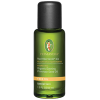 PRIMAVERA Organic Face Oil - Evening Primrose Oil- 30ml