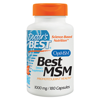 Best MSM - 180 x 1000mg Capsules