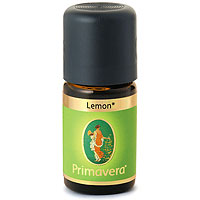 PRIMAVERA Organic Essential Oil - Lemon - Organic - 5ml
