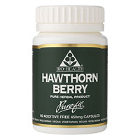 Hawthorn Berry - 120 x 450mg Vegicaps
