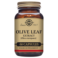 Solgar Olive Leaf Extract - Full Potency - 60 Vegicaps