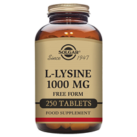 Solgar L-Lysine - Free Form - 1000mg x 250 Tablets