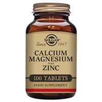 Solgar Calcium Magnesium Plus Zinc - 100 Tablets