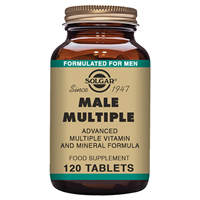 Solgar Male Multiple Vitamin and Mineral - 120 Tablets