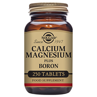 Solgar Calcium Magnesium plus Boron - 250 Tablets