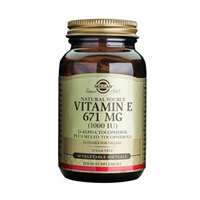 Solgar Vitamin E 671mg - 50 x 1000iu Vegetable Softgels