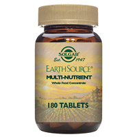 Solgar Earth Source Multi Nutrient - 180 Tablets