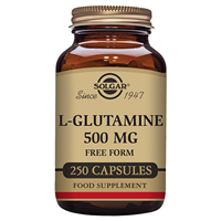 Solgar L-Glutamine - Free Form - 250 x 500mg Vegicaps