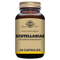 Solgar Scutellariae - Food Supplement - 50 Vegicaps