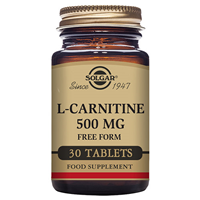 Solgar L-Carnitine - Amino Acid - 30 x 500mg Tablets