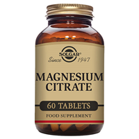 Solgar Magnesium Citrate - Mineral - 60 Tablets