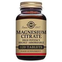 Solgar Magnesium Citrate - Mineral - 120 Tablets