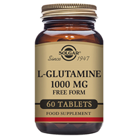 Solgar L-Glutamine - Absorption - 60 x 1000mg Tablets