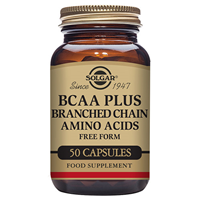 Solgar BCAA Plus - Amino Acids - 50 Vegicaps