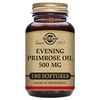 Solgar Evening Primrose Oil - 180 x 500mg Softgels