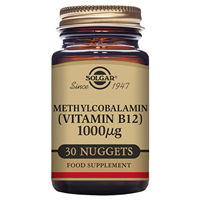 Solgar Methylcobalamin Vitamin B12 - 30 Nuggets