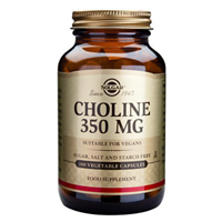 Solgar Choline - Cell Function - 100 Vegicaps
