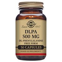 Solgar DLPA DL-Phenylalanine - 50 x 500mg Vegicaps