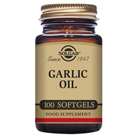 Solgar Garlic Oil - Reduced Odour - 100 Softgels